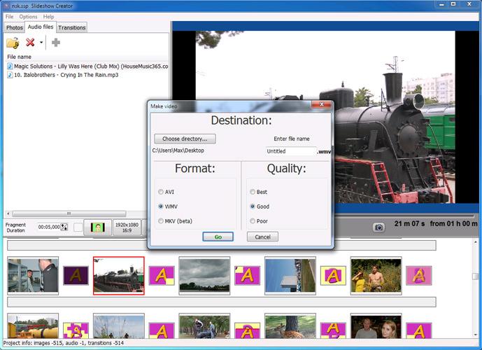 Slideshow Creator
